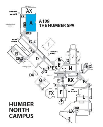 Humber Room Menu